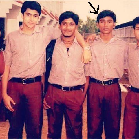 Dhanush in his childhood