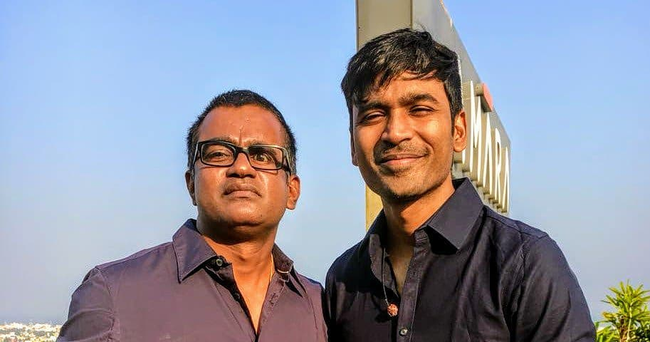 Dhanush with his Brother