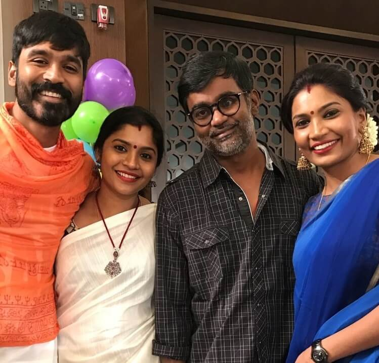Dhanush with his Sisters and Brother
