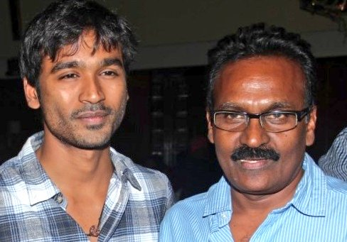 Dhanush with his father