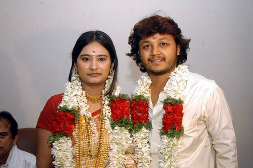 Ganesh (actor) marriage pictures
