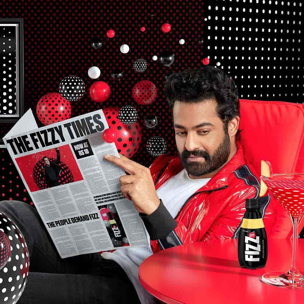 Jr. NTR in Fizz AD