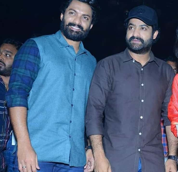 Jr. NTR with his Step brother Nandamuri Kalyan Ram