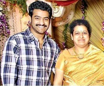 Jr. NTR with his mother Shalini