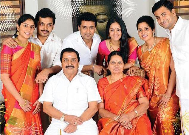 Karthi family