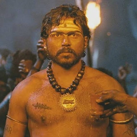 Karthi in Aayirathil Oruvan Movie