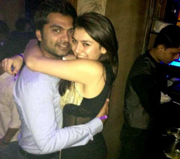 Simbu and Hansika motwani