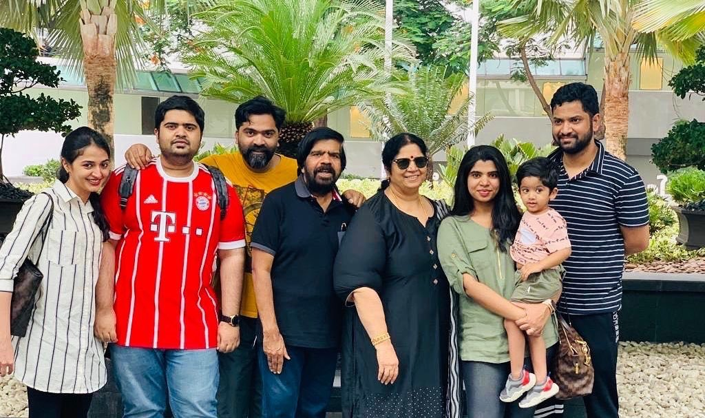 Simbu with his Family