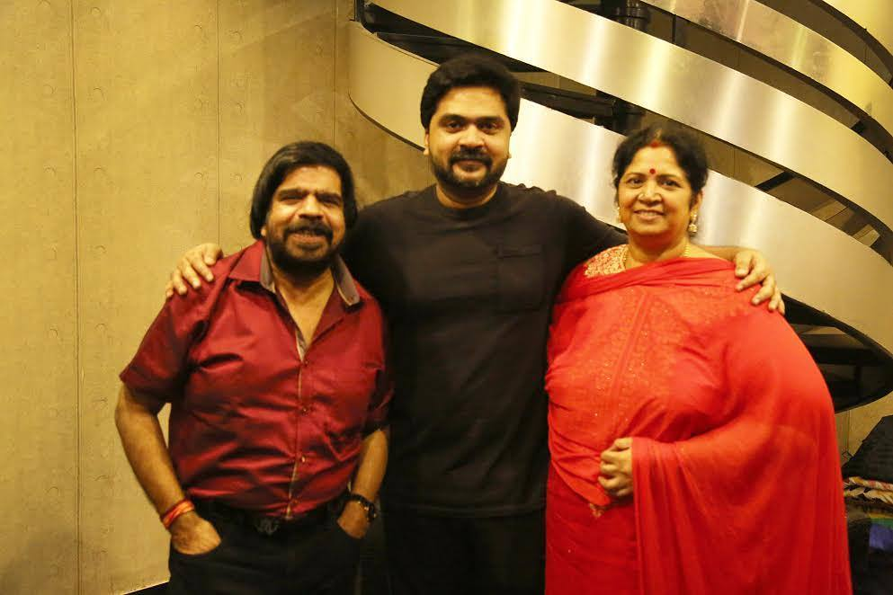 Simbu with his Parents