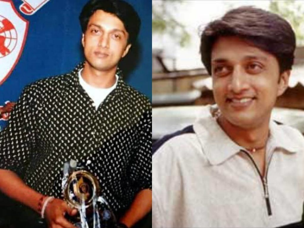 Sudeep in his initial days of career