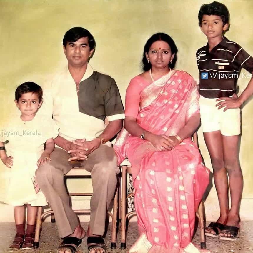 Vijay family