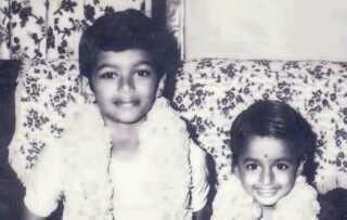 Vijay in childhood