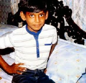 Vishal as a Child