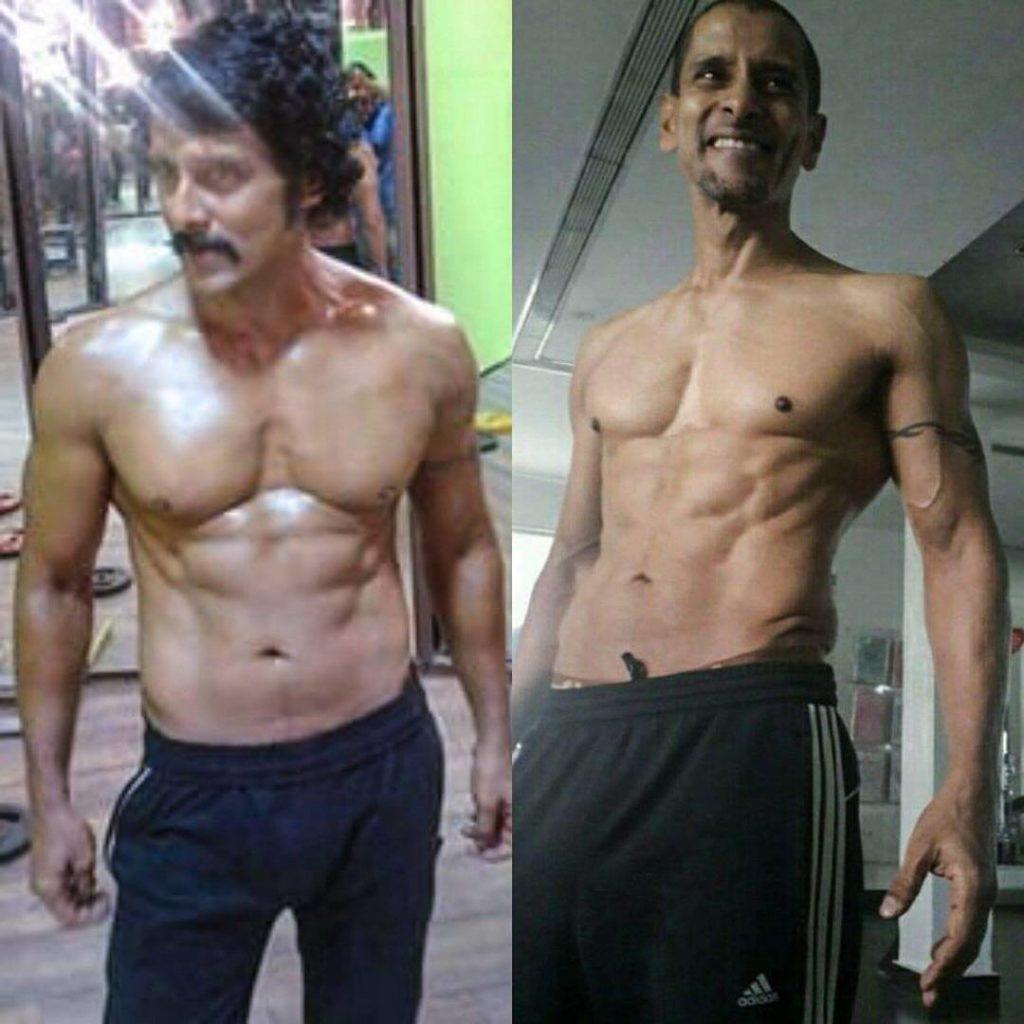 Vikram body transformation