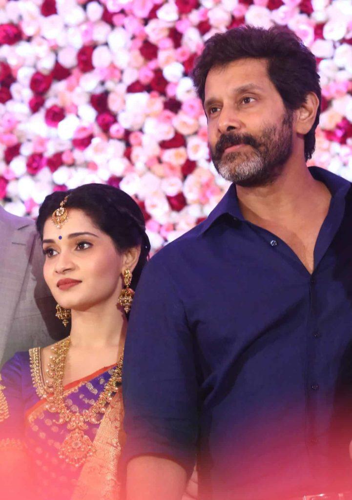 Vikram with is daughter Akshita
