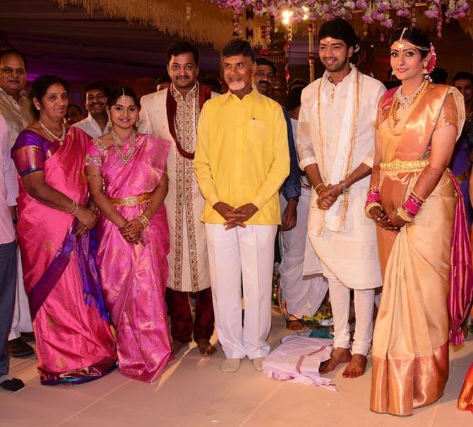 llari Naresh Wedding Image