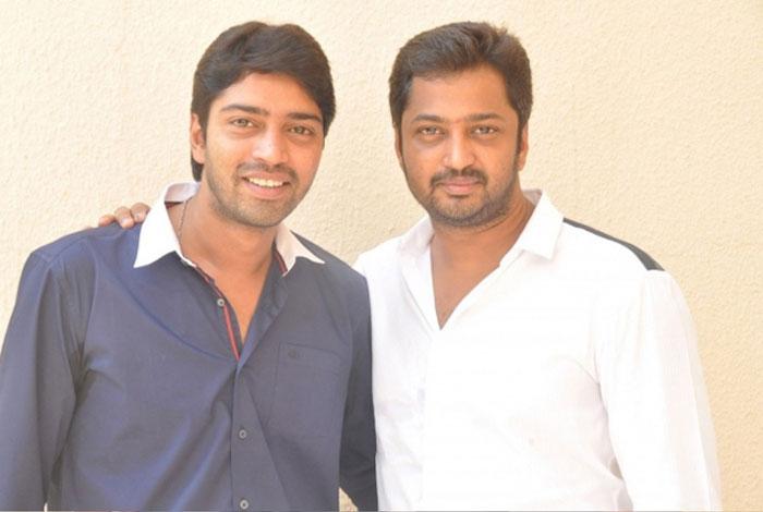 Allari Naresh with his Brother Aryan Rajesh