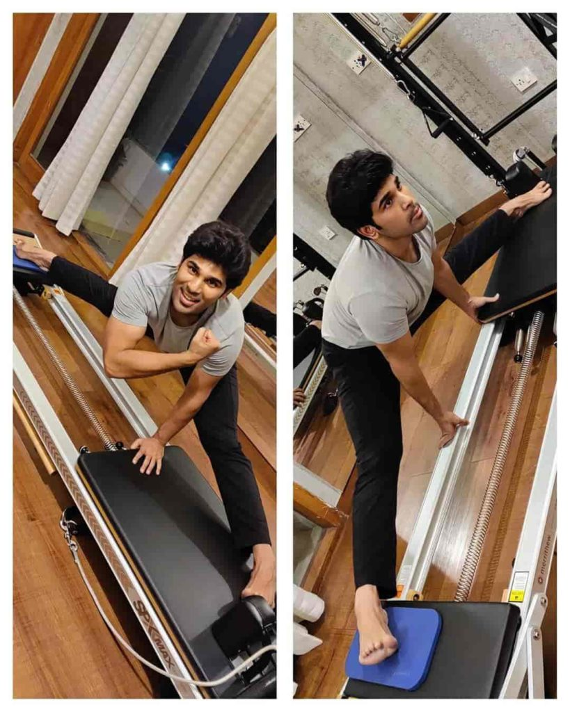 Allu Sirish in Gym