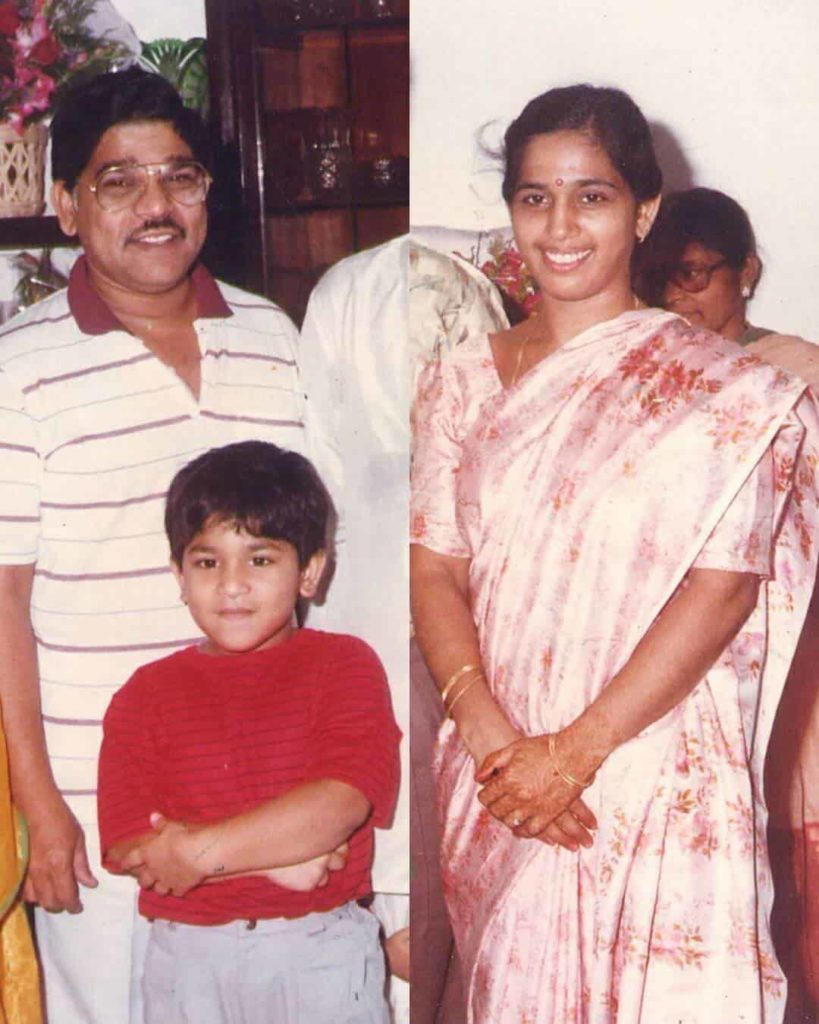 Allu Sirish in childhood
