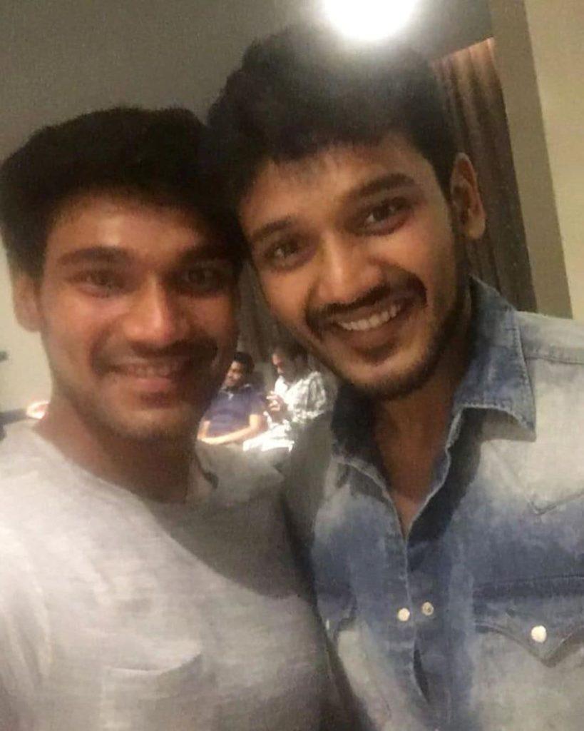 Bellamkonda Sreenivas with his Brother