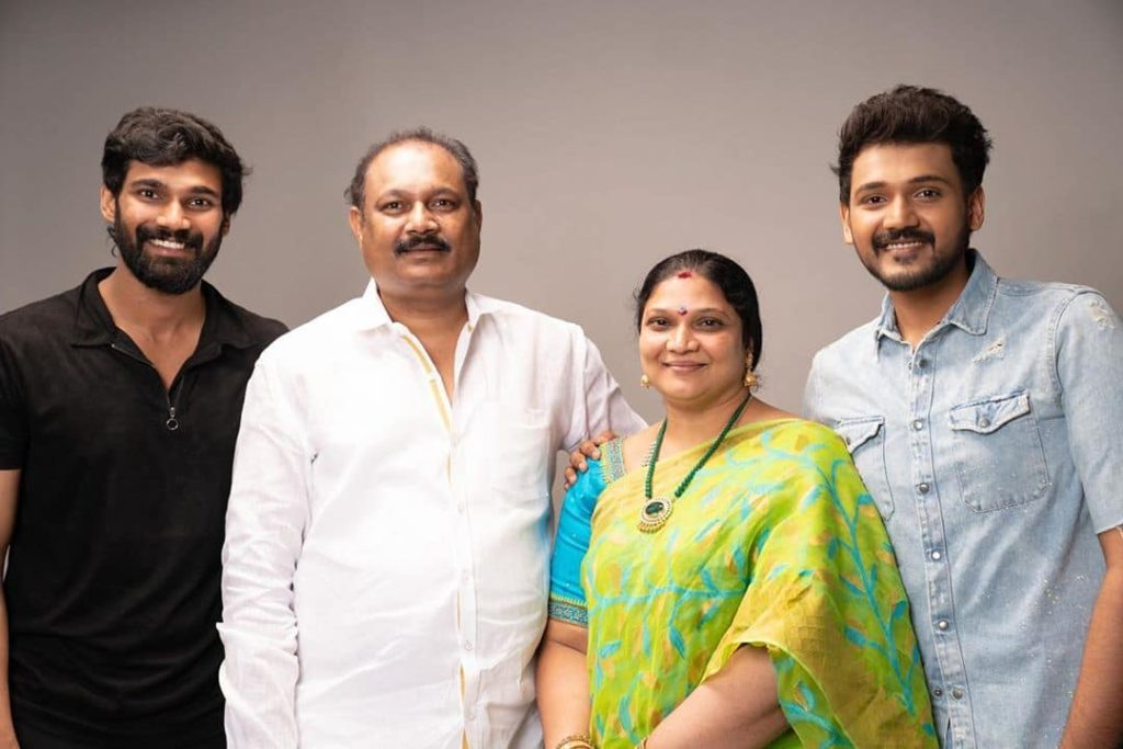 Bellamkonda Sreenivas with his Family