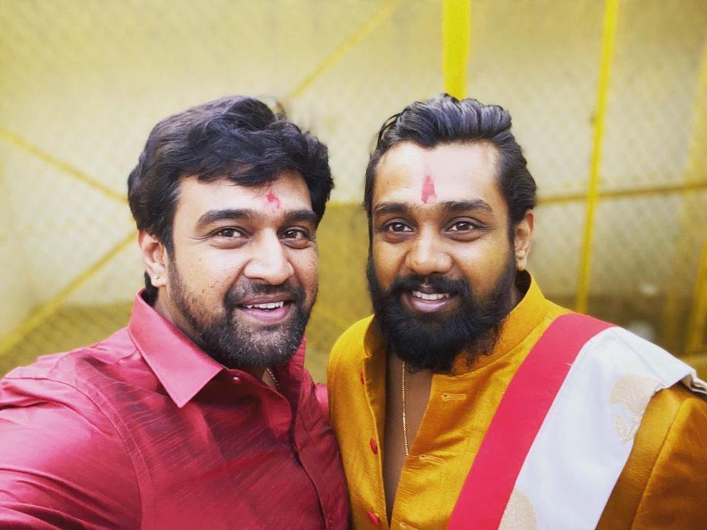 Chiranjeevi Sarja With His Brother Dhruv Sarja
