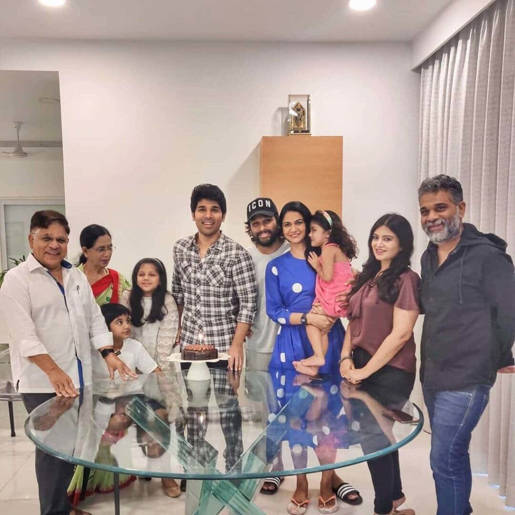 Family of Allu Sirish