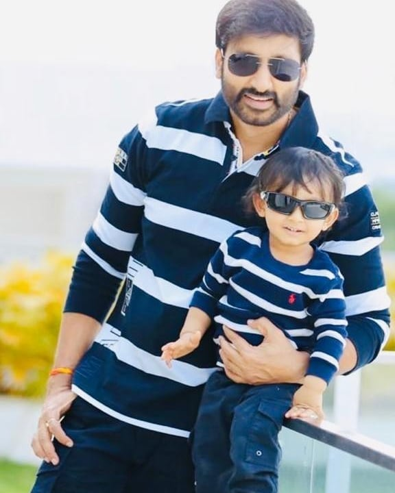 Gopichand with his Son Viyan