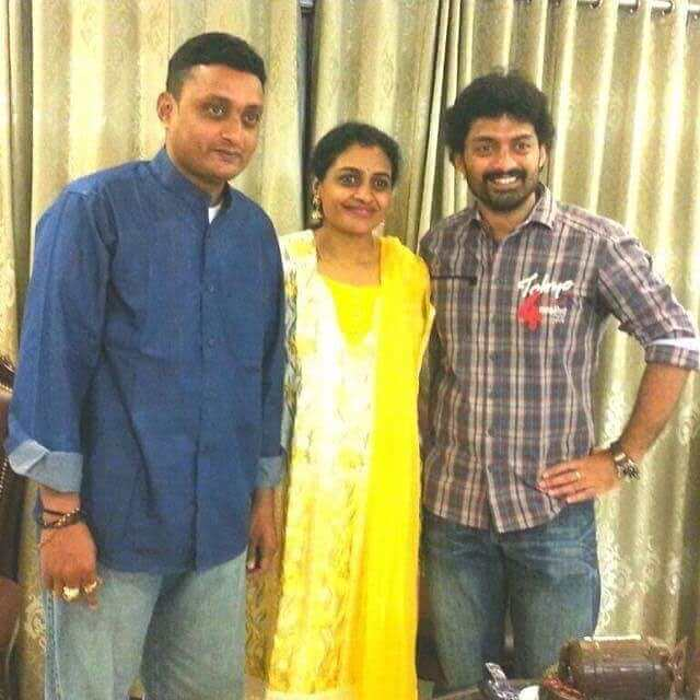 Kalyan Ram with his Brother and Sister