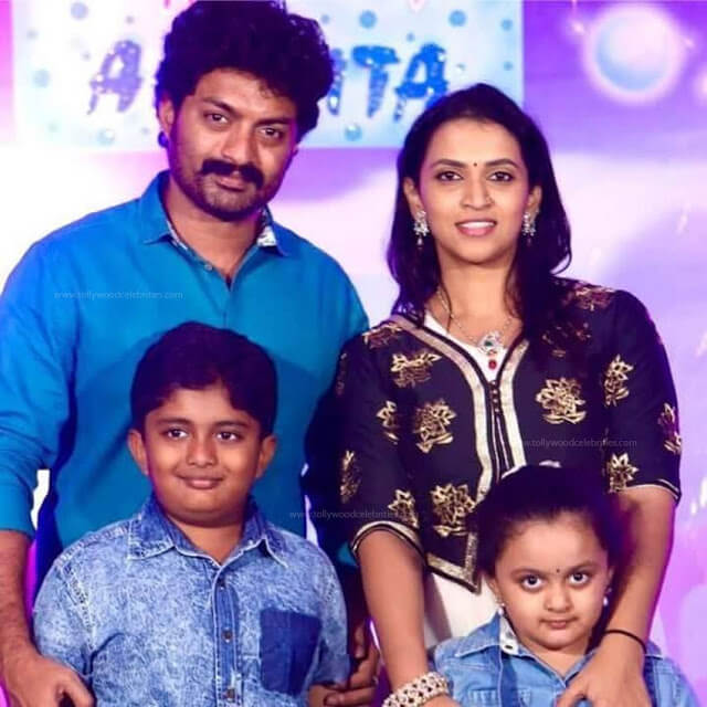 Kalyan Ram with his Family