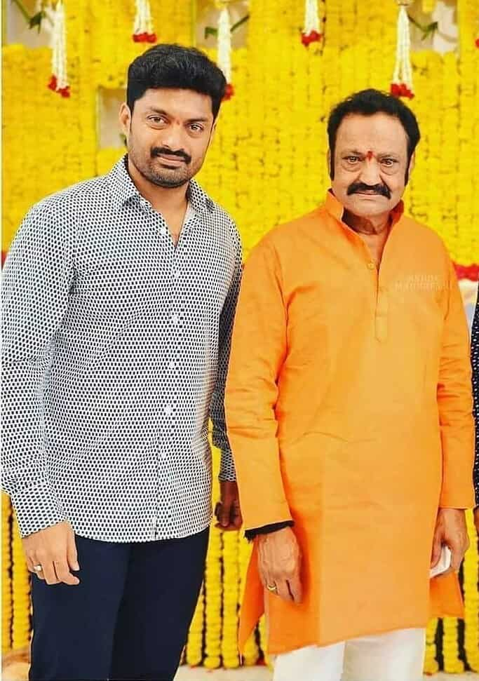 Kalyan Ram with his Father Harikrishna Nandamuri