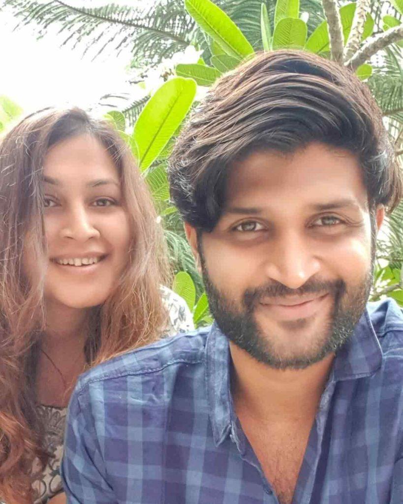 Kamal Kamaraju with Supriya Biswas