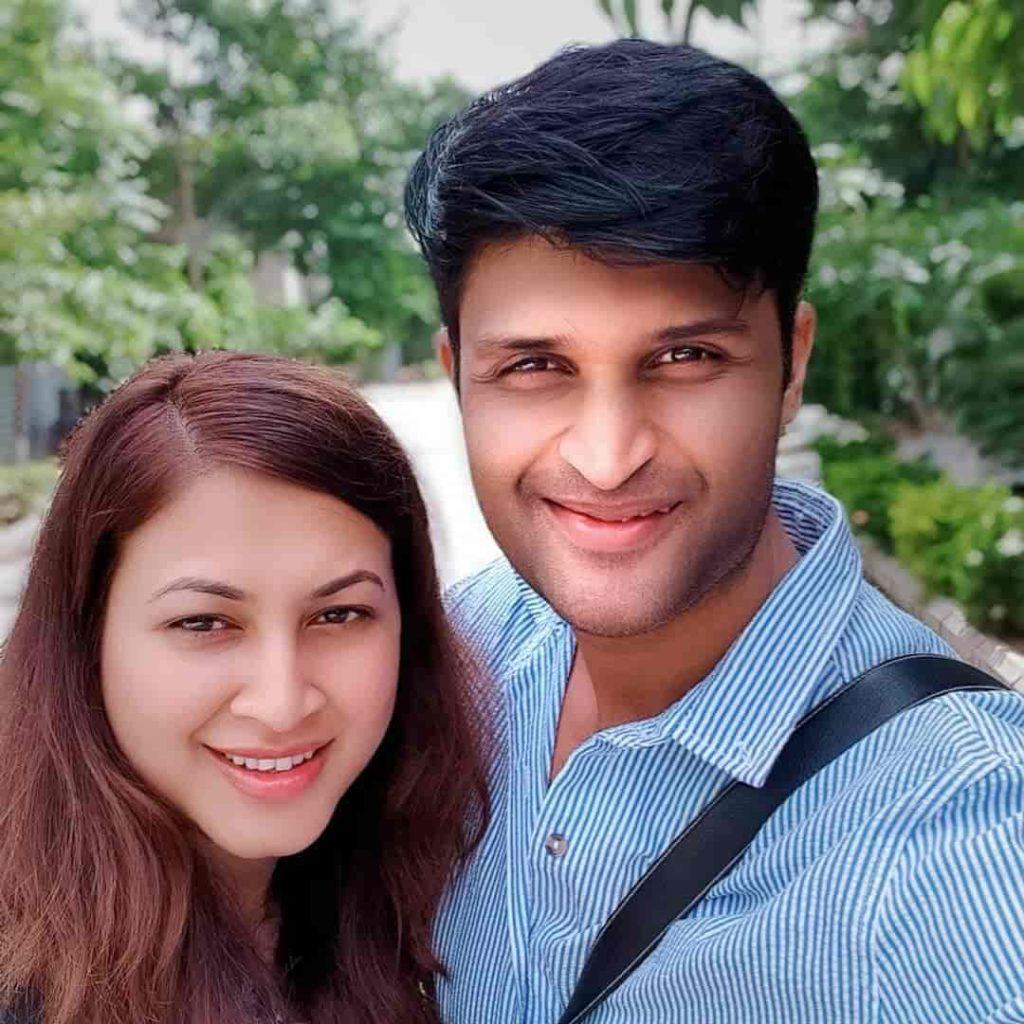 Kamal Kamaraju with his Wife Supriya Biswas