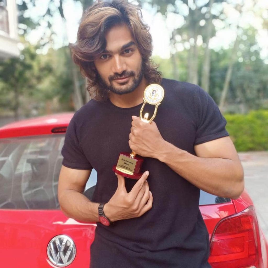 Kartikeya with Award