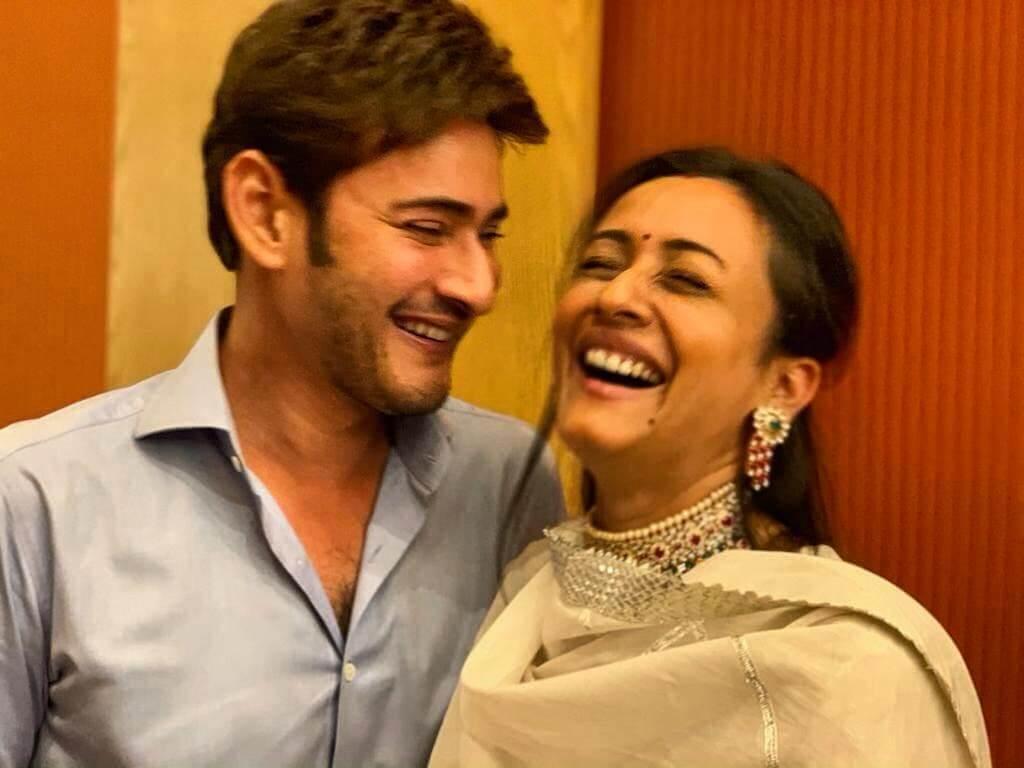 Mahesh Babu with his Wife