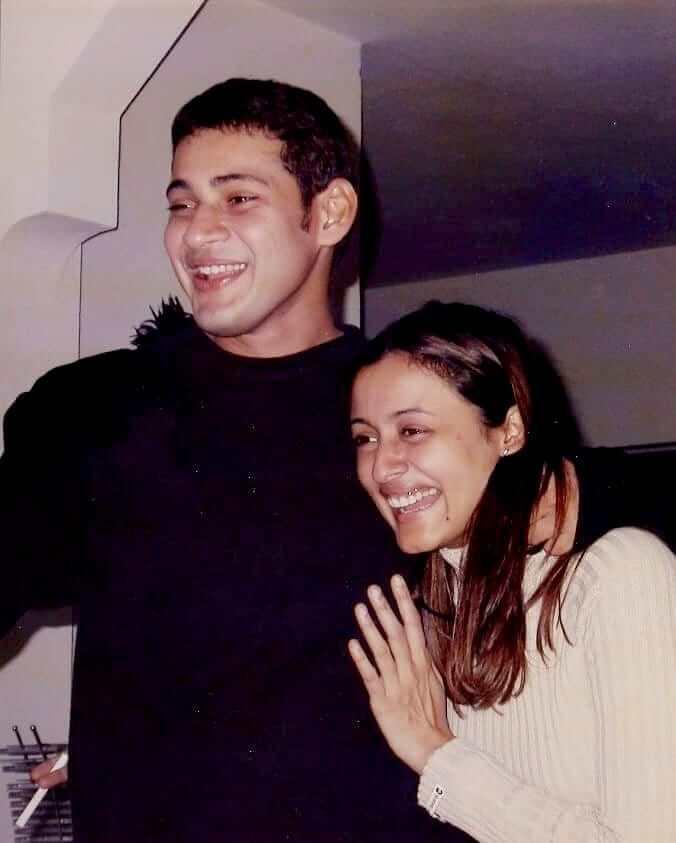 Mahesh Babu with his Wife Namrata Shirodkar