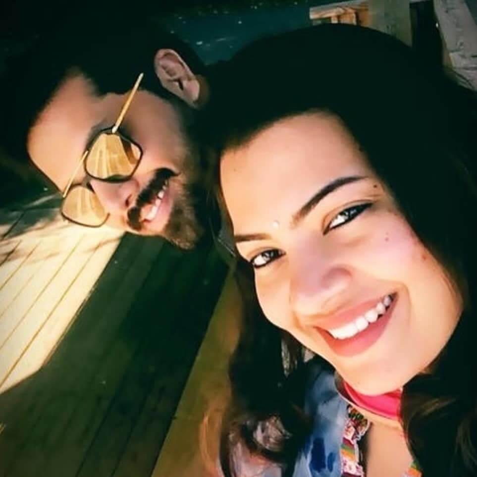 Nandu with his Wife