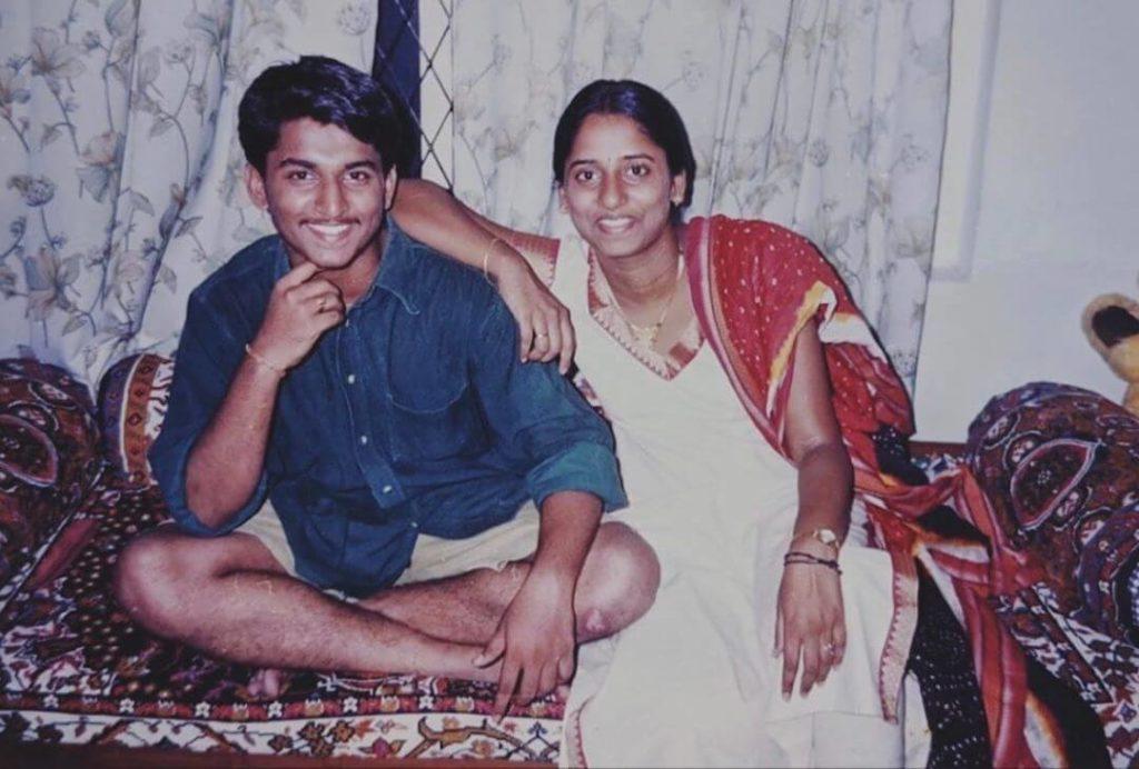 Nani with his Sister