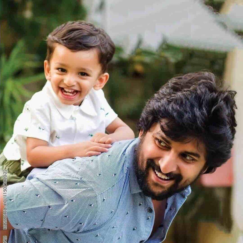 Nani with his Son Arjun