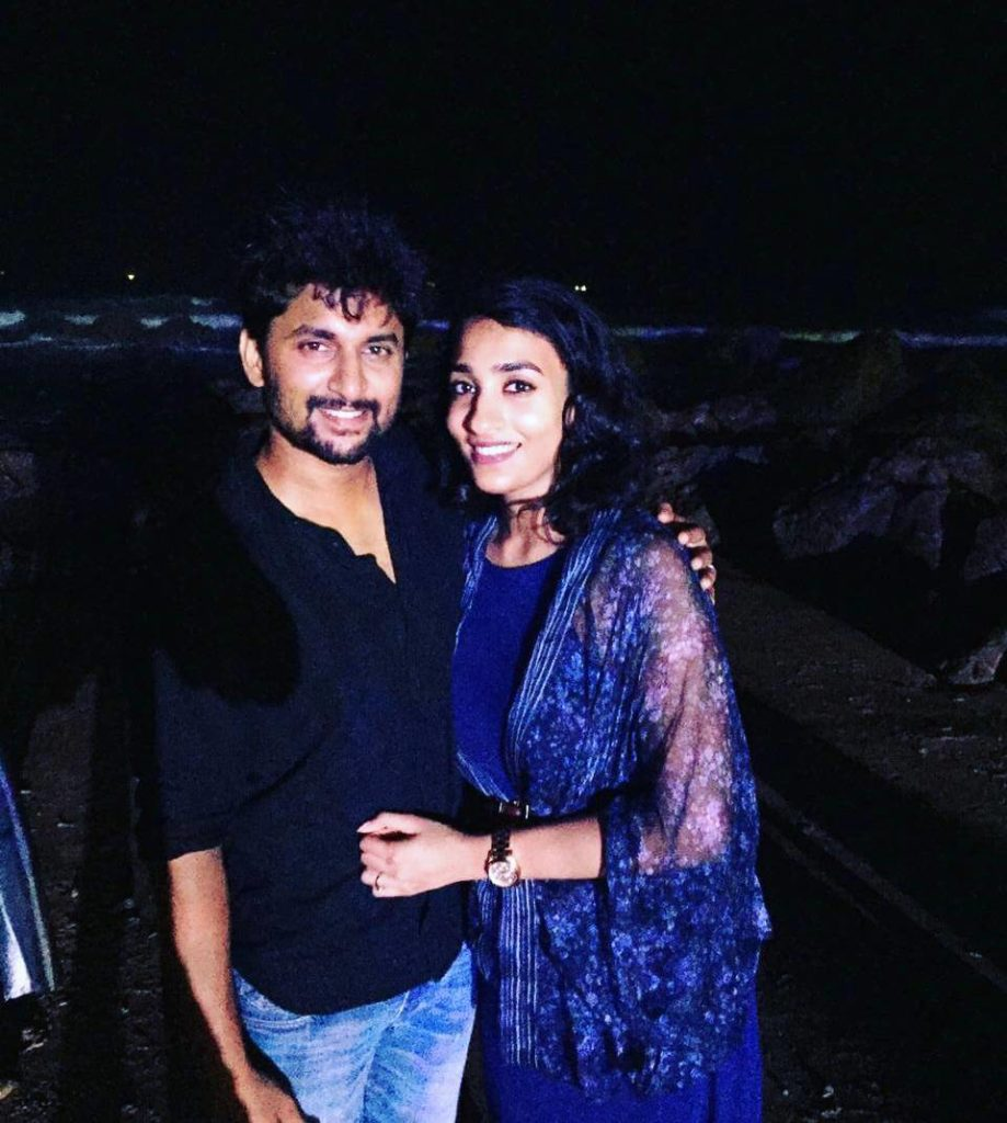 Nani with his Wife