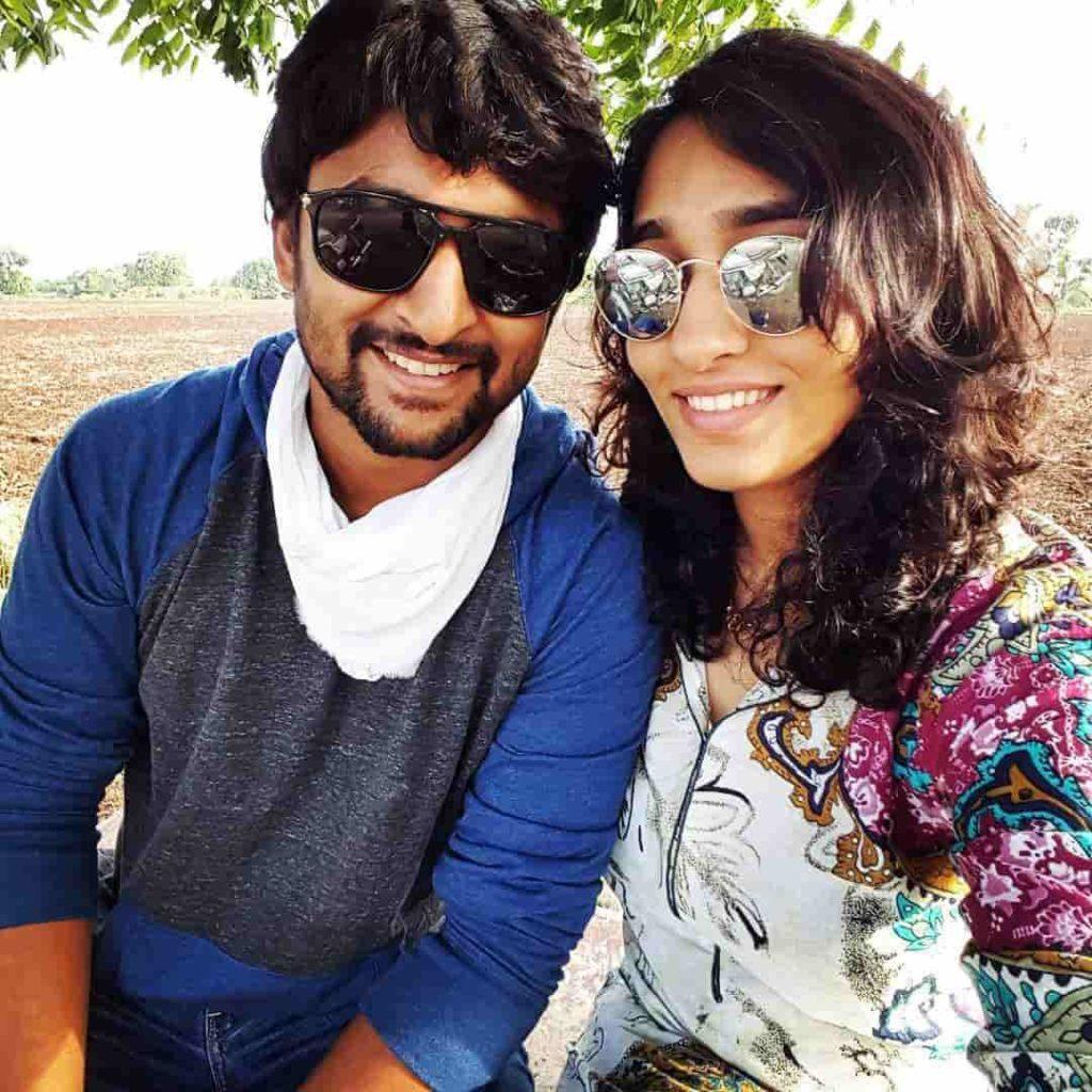 Nani with his Wife Anjana Yelavarthy
