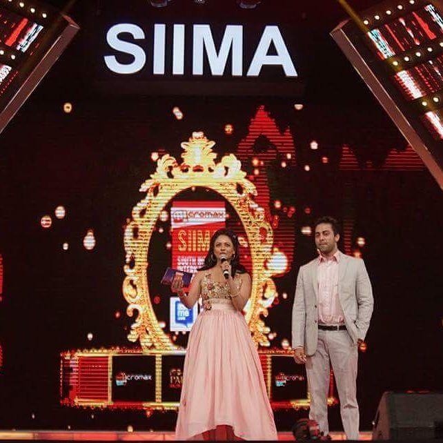 Navdeep Hosting SIIMA