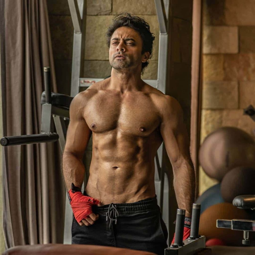 Navdeep Work Outs At Gym