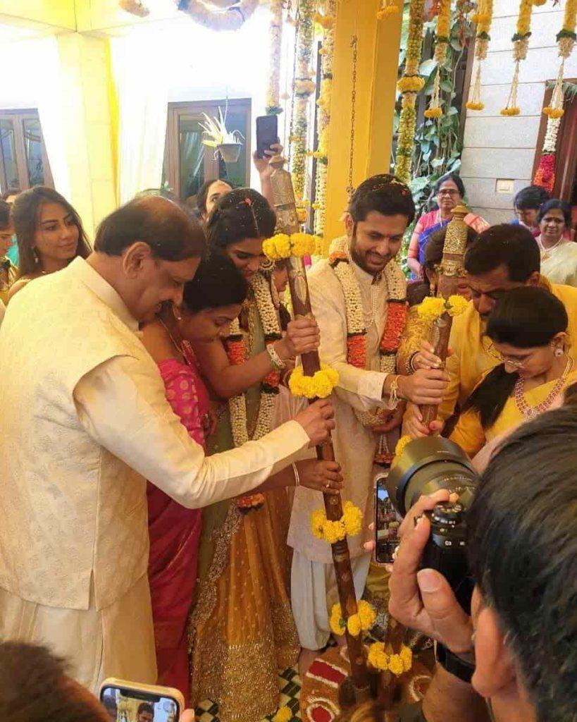 Nithiin Wedding Image