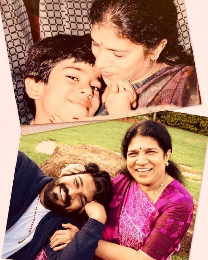 Ram Charan with his Mother Surekha Konidela