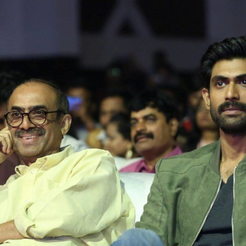 Rana Daggubati with his Father Suresh Babu