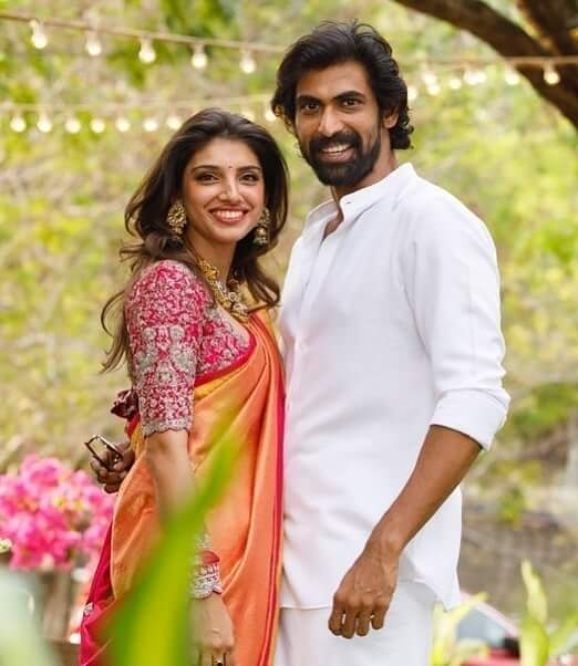 Rana Daggubati with his Wife Miheeka Bajaj