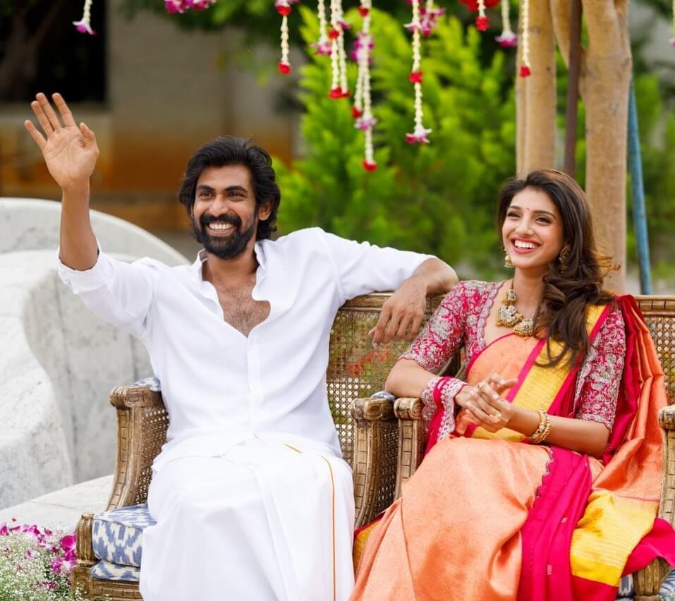 Rana Daggubati with his Wife Miheeka