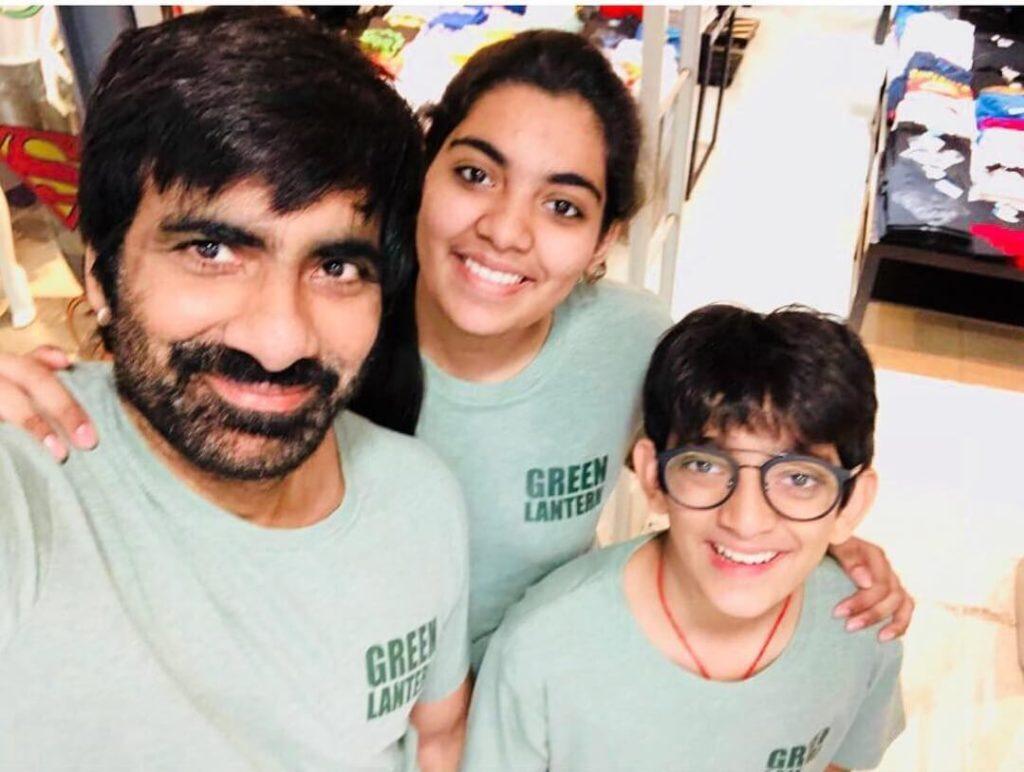 Ravi Teja children