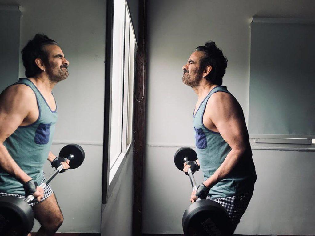 Ravi Teja in Gym